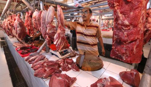 Foto Kemendag Berencana Impor 100 Ribu Ton Daging Dari India