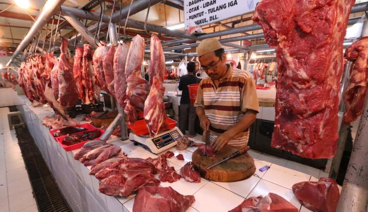 harga daging sapi di medan tembus rp140 ribu/kg