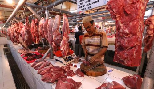 Foto Harga Daging Sapi di Medan Tembus Rp140 ribu/kg