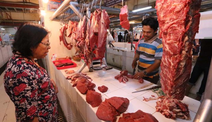 Foto Berita Belum Edisi Lebaran, Daging Sapi Lokal Tembus Rp120 Ribu/kg