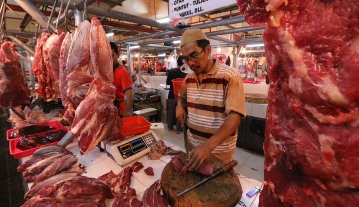 Foto Berita Usai Lebaran, Harga Daging di Bantul Masih Tinggi