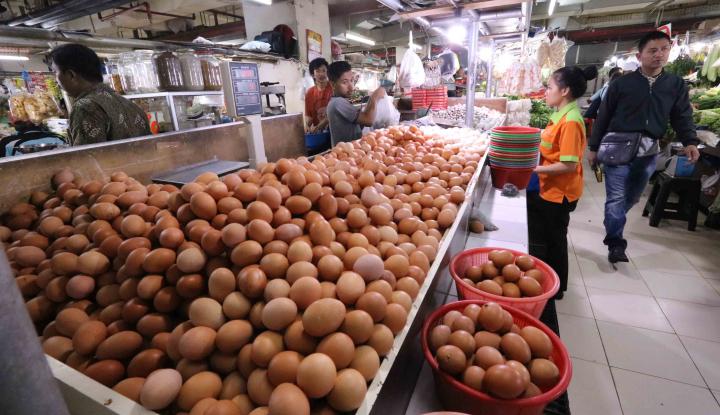 Foto Berita Telur Ayam Hingga Uang Sekolah Picu Inflasi Juli 2018