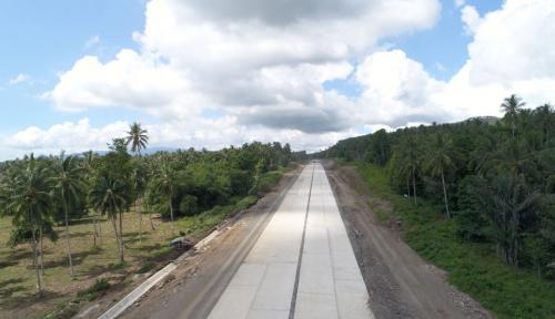 Foto Pembangunan Tol Manado-Bitung Sudah 48,36%