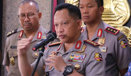 Foto Kapolri: Kekompakan Bersama TNI-BNN Patakan Jaringan Narkoba