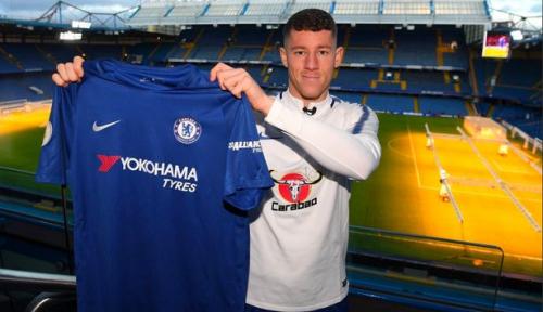 Foto Chelsea Resmi Boyong Ross Barkley ke Stamford Bridge
