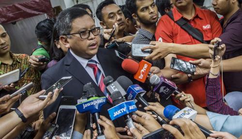 Foto Presiden Akan Hadiri Rakernas PDIP, Tapi Tertutup