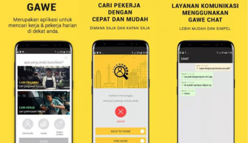 Foto Gawe, Aplikasi Menjaring Pekerja untuk UKM