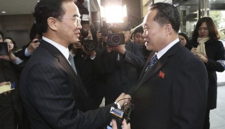 Foto Berita 9 Januari 2018, Hari Bersejarah bagi Korea Selatan-Korea Utara