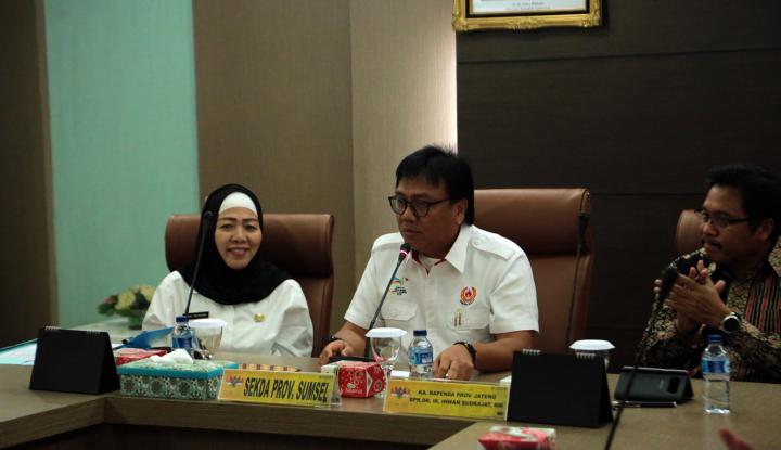 Foto Berita Belajar Kesamsatan, Pemprov Sumsel Undang BPPD Jateng