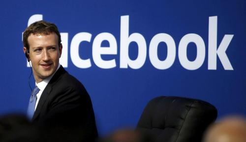 Foto Bos Facebook Bakal Saring Berita Kelewat Sensasional dan Over Hoax