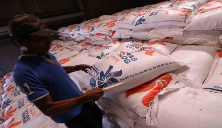 bulog: stok beras di banyumas mencukupi