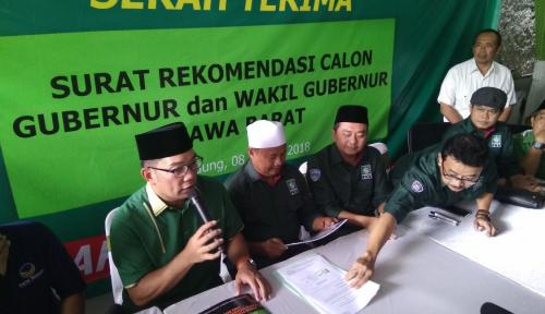 Foto Soal Slogan Rindu Jabar Juara, Begini Kata Ridwan Kamil