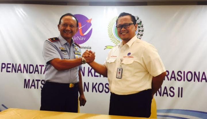 Foto Berita TNI AU Gandeng AirNav Tingkatkan Pertahanan Udara
