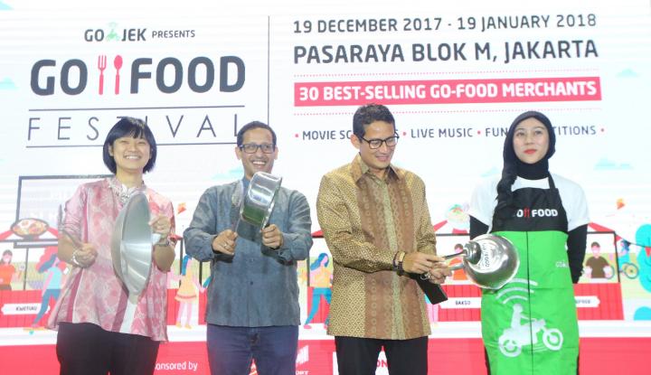 Foto Berita UMKM Akui Terbantukan Berkat Adanya Go-Food Festival