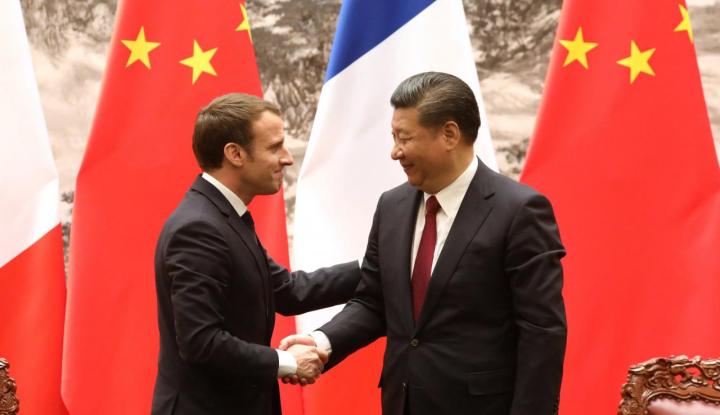 Foto Berita Presiden Prancis Sebut China Bakal Beli 184 Jet Airbus