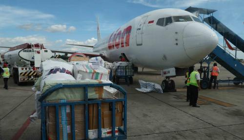 Foto Ini Penyebab Pesawat Lion Air Tujuan Manado Kembali ke Makassar