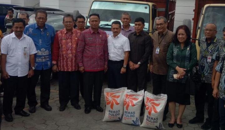 Foto Berita Stabilkan Harga Beras, Bulog Sumut OP 1.000 Ton Beras ke Pasar
