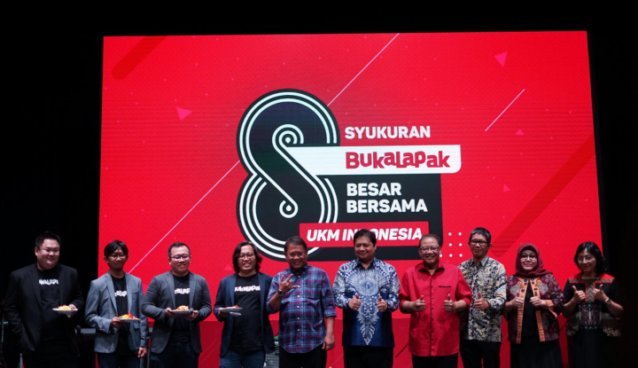 Foto Berita HUT Ke-8, Bukalapak Komitmen Berupaya Menaikkelaskan UKM Indonesia