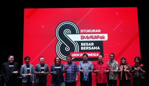 Foto HUT Ke-8, Bukalapak Komitmen Berupaya Menaikkelaskan UKM Indonesia