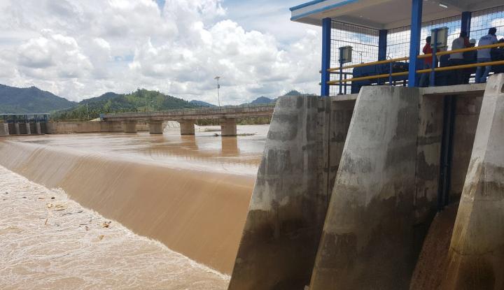 Foto Berita Berdaya Tampung 25,9 Juta M3, Bendungan Kuningan Airi 2 Provinsi