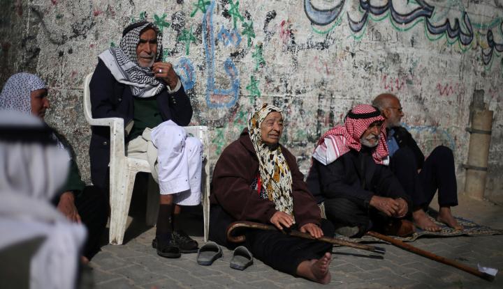 Foto Berita Palestina Berharap Israel Stop Kepung Gaza