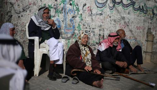 Foto Perjuangan Nyata Masyarakat Gaza Hadapi Corona di Tengah Blokade Israel