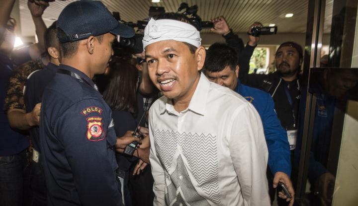 Foto Berita Deddy Mulyadi Mengaku Tak Terpengaruh Hasil Survei