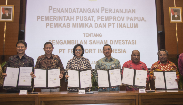 bupati mimika: papua juga terima dividen freeport