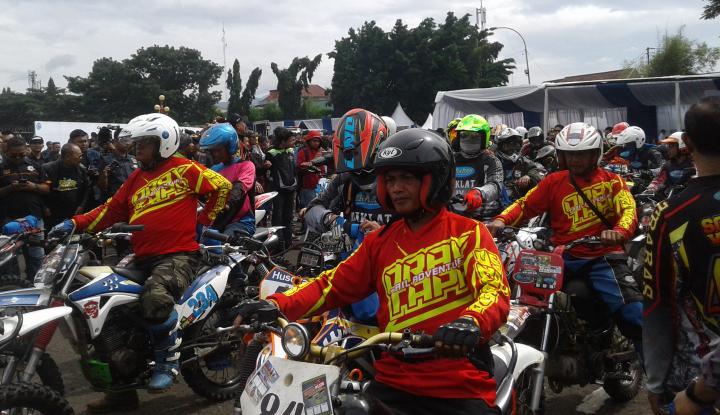 2.000 bikers ikuti kampanye keselamatan berkendara
