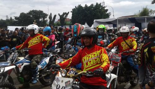Foto 2.000 Bikers Ikuti Kampanye Keselamatan Berkendara