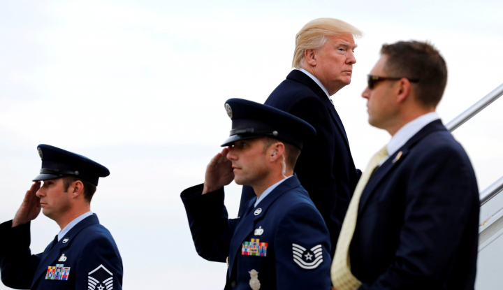 Foto Berita Komentar yang Dilaporkan Dikeluarkan Trump Sulut Kemarahan di Afrika