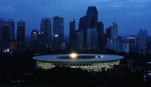 Foto Basuki: Venue Asian Games Diakui Standar Internasional