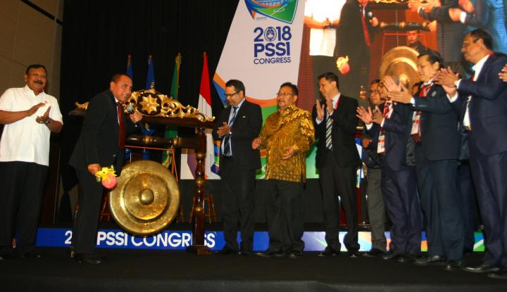 Foto Berita Musim 2018, Anggota PSSI Sepakati Perubahan Struktur Liga 2-3