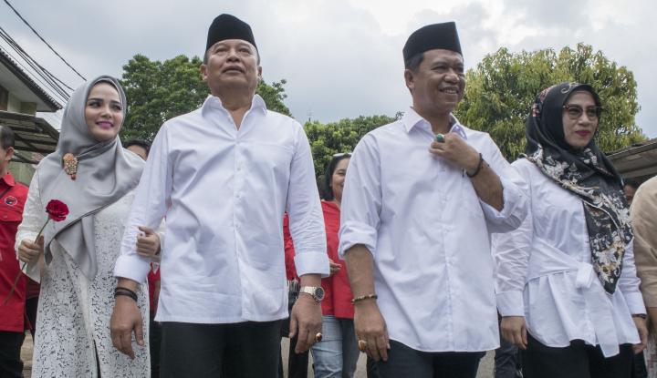 Foto Berita Cagub PDIP Dikawal Tim Ahli pada Debat Perdana Pilgub Jabar
