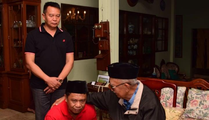 Foto Berita Pilkada Jabar, Pasangan Hasanah Minta Restu Solihin GP