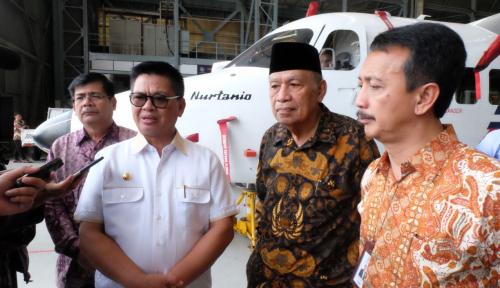 Foto Pesawat N219 Nurtanio Diminati Pemprov Kalimantan Utara