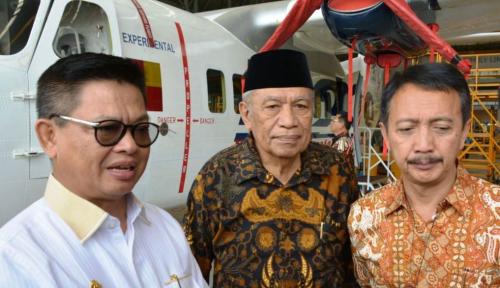 Foto PTDI Siapkan Uji Terbang Purwarupa N219 Nurtanio