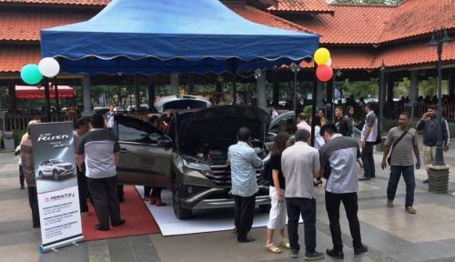 Foto Toyota Perintis Medan Hadirkan All New Rush dengan Varian Baru