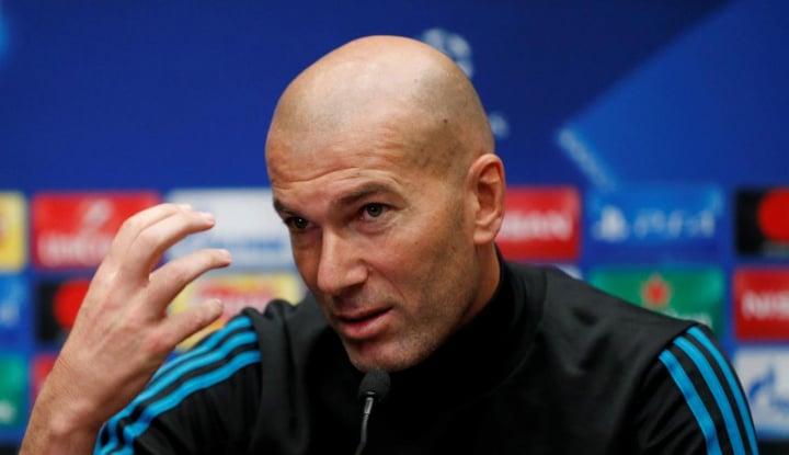 zidane: aneh, bola tidak bisa masuk gawang lawan