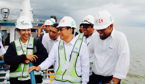 Foto Menteri BUMN Senang Ekspor dari Makassar Tumbuh Pesat