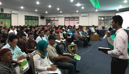 Foto 300 Agen Perisai Terima Pelatihan dari BPJS Ketenagakerjaan Medan