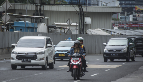 Foto Kemenhub Tagih Kominfo Soal Taksi Daring