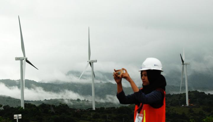 Foto Berita Pembangunan PLTB Sidrap Sudah Capai 90%