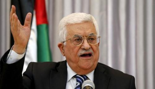 Foto Kondisi Kesehatan Presiden Palestina Dikabarkan Menurun