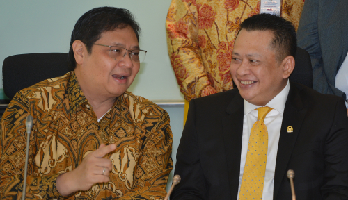 Foto Bamsoet Kumpulkan Pimpinan Komisi DPR