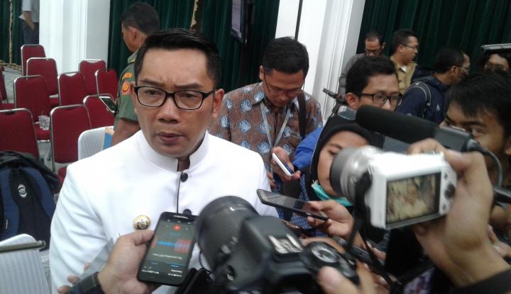 Foto Berita Kang Emil Sedih PNS Kabupaten Bekasi Kena OTT KPK