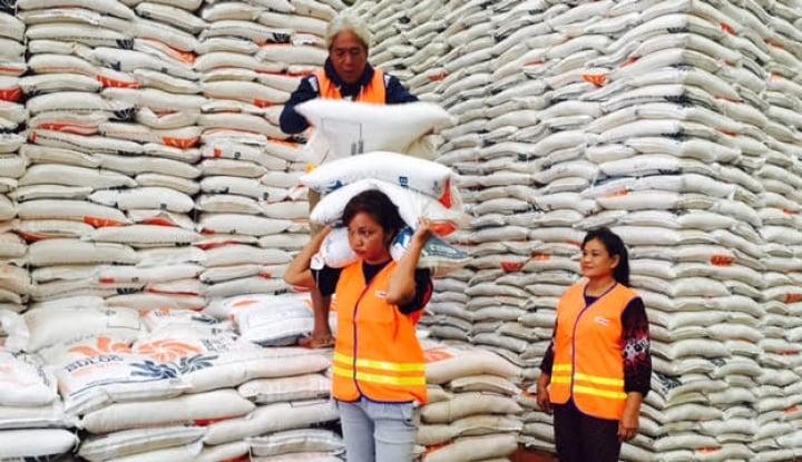 stok beras di madiun aman hingga lebaran