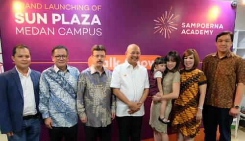 Foto Tingkatkan Budaya Indonesia, Sampoerna Academy Resmikan PAUD di Medan