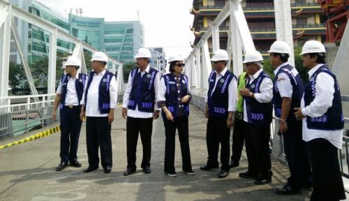 Foto Menkeu: Medan Sudah Layak Dibangun LRT