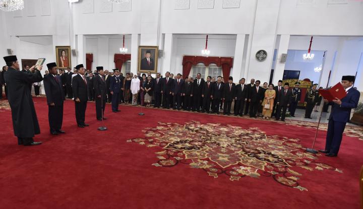 Foto Berita Reshuffle Cara Jokowi yang Sulit Ditebak (1)